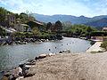 Pietracorbara embouchure fiume di Pietracorbara 1.jpg