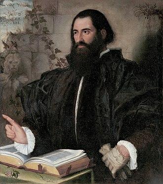 Pietro Andrea Mattioli - Image: Pietro Andrea Mattioli, by Alessandro Bonvicino called il Moretto