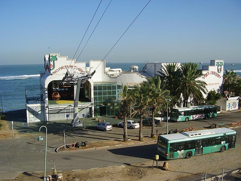 הרכבל בחיפה-התחנה התחתונה