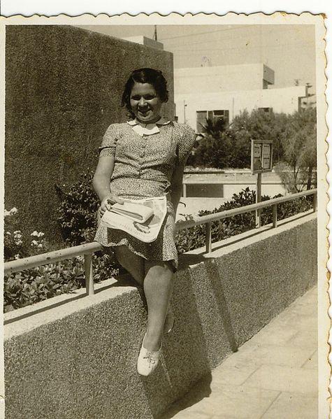 צעירה תל אביבית 1939