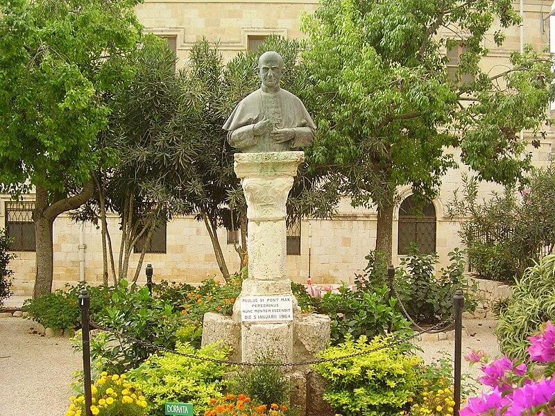 פסל פאולוס ה - 6 בהר תבור