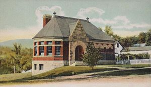 Warner, New Hampshire - Image: Pillsbury Free Library, Warner, NH
