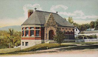 Warner, New Hampshire - Image: Pillsbury Free Library, Warner, NH