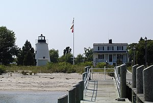 Piney Point Light - Piney Point Lighthouse