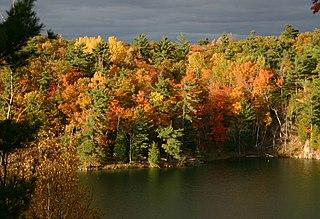 Gatineau Park park in Quebec, Canada