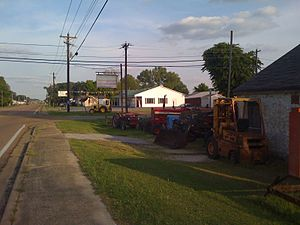 Pinson, Tennessee - Pinson's small commercial strip runs along the western side of  U.S. Route 45.
