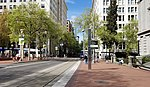 Pioneer Courthouse SW 6th station April 2019.jpg