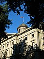 Pioneer Courthouse morning light - Portland Oregon.jpg