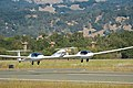 Pipistrel Taurus G4 take-off at 2011 Green Flight Challenge.jpg