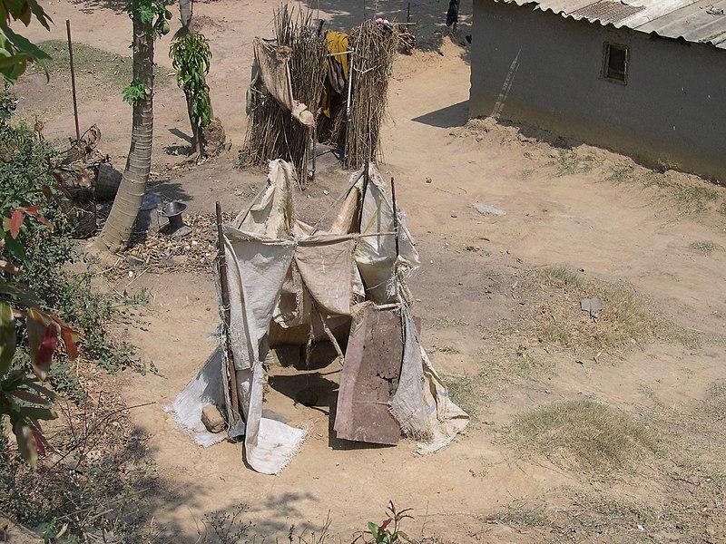Pit latrines in Zambia (3233256285).jpg