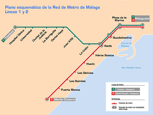 Malaga Metro – Schedules, tickets, maps, lines and routes. on map of andalucia, map of puerto rico gran canaria, map of iruna, map of mutare, map of sagunto, map of cudillero, map of bizkaia, map of getxo, map of tampere, map of macapa, map of marsala, map of mount ephraim, map of costa de la luz, map of italica, map of soria, map of isla margarita, map of monchengladbach, map of venice marco polo, map of penedes, map of graysville,