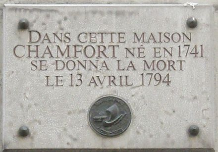 Memorial plaque at 10, rue Chabanais [fr], Paris 2ième