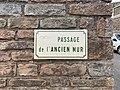 Plaque Passage Ancien Mur - Solutré-Pouilly (FR71) - 2021-03-02 - 2.jpg