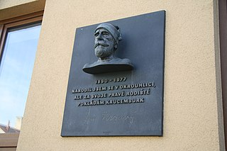 pamětní deska a busta Jana Zrzavého