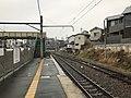 Platform of Momoyama Station 5.jpg