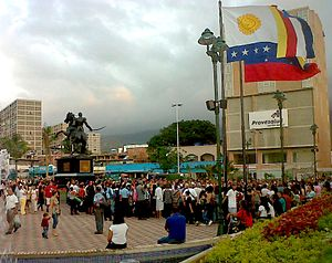 Catia La Mar - View of Catia La Mar Mayor Square (Plaza Mayor de Catia La Mar)