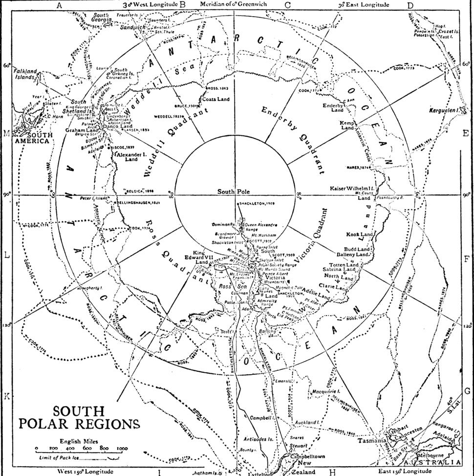 Polar Regions exploration 1911