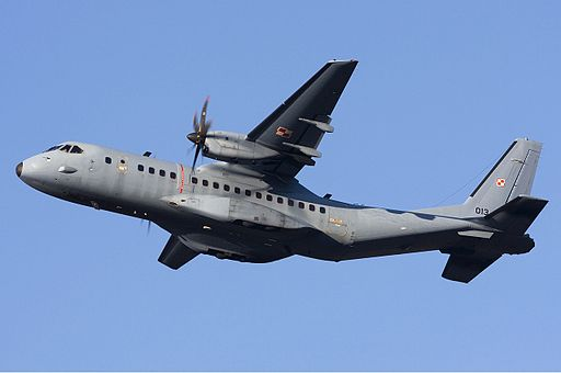 Polish Air Force CASA C-295M Lofting