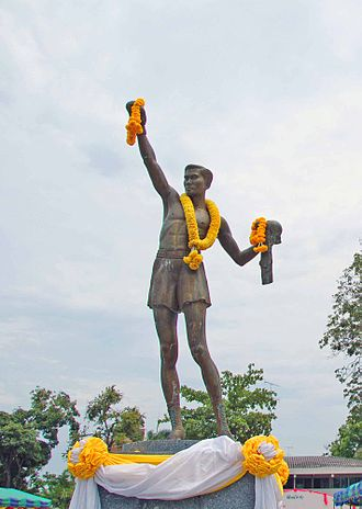 Pone Kingpetch - Statue of Pone Kingpetch at Pone Kingpetch park in Hua Hin