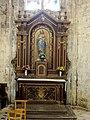 Pont-Sainte-Maxence (60), église Sainte-Maxence, déambulatoire, 1ère chapelle rayonnante - autel du Sacré-Cœur de Jésus.jpg