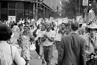 Joseph S. Clark's and Robert F. Kennedy's tour of the Mississippi Delta - Demonstrators of the Poor People's March on Washington