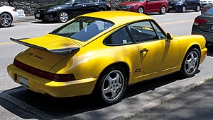 Porsche 964 - Porsche RS America in speed yellow