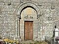 Portada meridional da igrexa de San Miguel de Oleiros, Carballedo.jpg