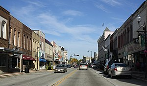 Portage, Wisconsin - Downtown Portage