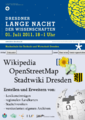 Portalplakat Lange Nacht der Wissenschaften Dresden 2011.png