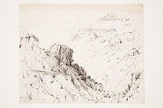 Porter's Pass, Canterbury 1870