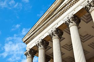 Portico of University College London