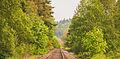 Portland and Western Railroad Prescott Rainier Oregon Train Tracks (19959291520).jpg