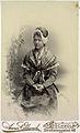 Porträtt av Sigrid Behm, gift Millrath - Nordiska Museet - NMA.0044866.jpg