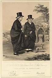 The Rt. Honble. Lady Eleanor Butler & Miss Ponsonby 'The Ladies of Llangollen'