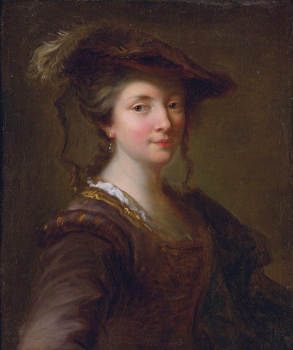 Portrait of a Lady, said to be Louise Julie de Nesle, Comtesse de Mailly by Alexis Grimou