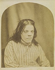 Portrait of a patient from Surrey County Asylum, no. 3 (8407139555).jpg