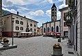 Poschiavo , Piazza Comunale towards San Vittore Mauro.jpg