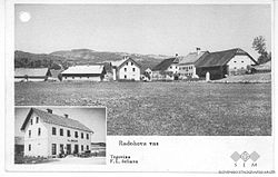 Postcard of Radohova Vas