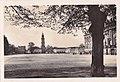 Potsdam - Sanssouci, Alemanha, Meados do Sec. XX, Castelo de Sanssouci, Jardim de Agrement e Ijreja de Garnison e o Castelo da Vila, Arquivo de Villa Maria.jpg
