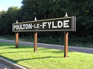 Preston and Wyre Joint Railway - Poulton-le-Fylde Station