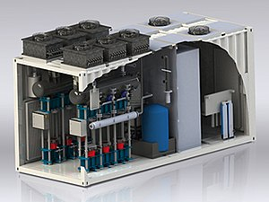 Power-to-gas - Units like ITM Power's HGas generates hydrogen to be directly injected into the gas network as Power to Gas