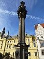 Prag – Gedenksäule am Charles Square - Pamětní sloup na Karlově náměstí - panoramio.jpg