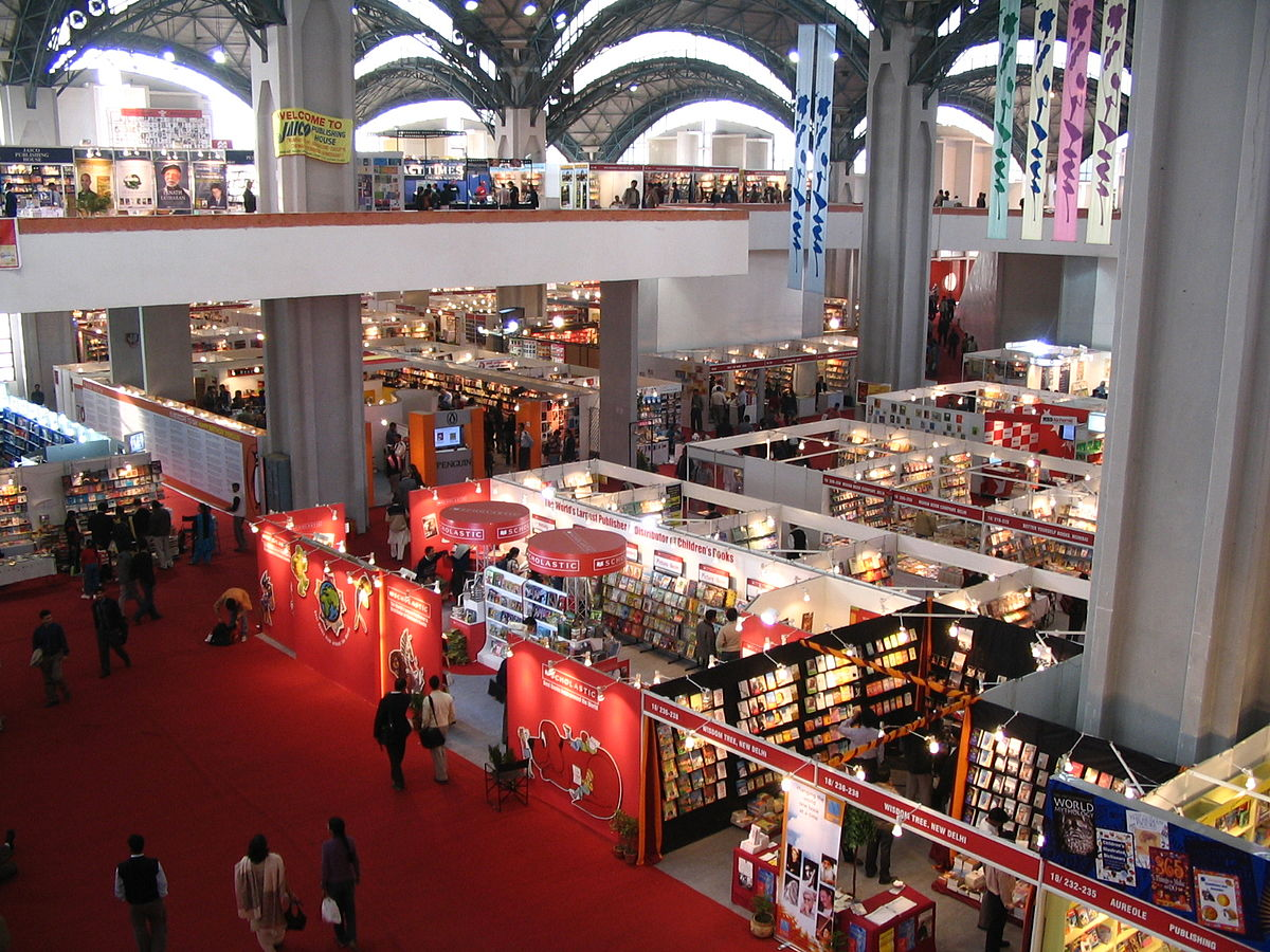 report writing on world book fair