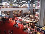 Pragati Maidan hosts major exhibitions like the World Book Fair and India International Trade Fair