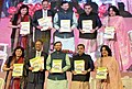 Prakash Javadekar releasing the publications, at the launch of the SSA ShaGun (Shala Gunvatta) a web-portal for the online monitoring of the Sarva Shiksha Abhiyan (SSA) and a Repository of best practices, in New Delhi.jpg