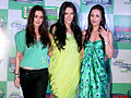 Preity, Malaika and Neha at 'Gillette PMS campaign' event 04.jpg