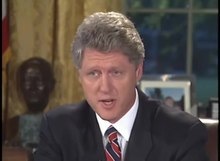 File:Pres. Clinton's Address to the Nation on Iraq (1993).webm