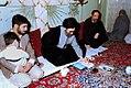 President Ali Khamenei in a Martyr's family house.jpg
