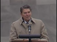 File:President Reagan's remarks at Bergen-Belsen Concentration Camp in West Germany, May 5, 1985.webm