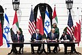 President Trump and The First Lady Participate in an Abraham Accords Signing Ceremony (50346518091).jpg